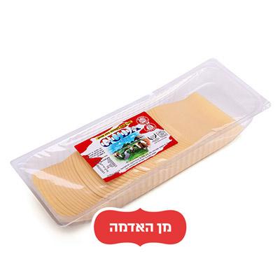 """גבינה צהובה 1 ק""""ג פרוס"""